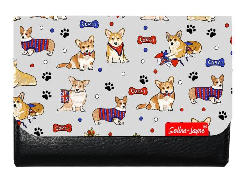 Selina-Jayne Corgi Dogs Limited Edition Designer Small Purse